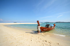 Adang island Royalty Free Stock Photo