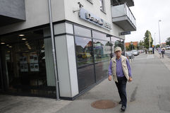 Adanske-Bank Lizenzfreies Stockfoto