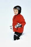Adapté à la neige image libre de droits
