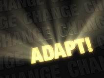 Adapt When Surrounded By Change Stock Image