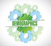 adapta el ejemplo de la muestra del demographics libre illustration