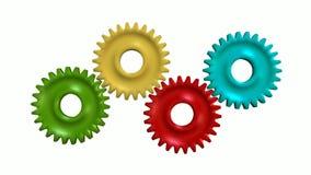 Adapta negocio de alta tecnología de la rueda de la tecnología ilustración del vector