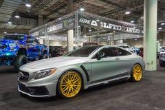 Adaptación de Mercedes Benz Fotos de archivo