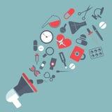 Adaptador bucal da medicina Imagens de Stock