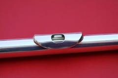 Adaptador bucal de prata da flauta Imagens de Stock