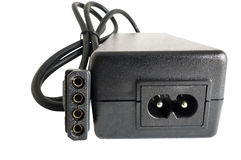 Adaptador de corriente alterna Imagen de archivo libre de regalías