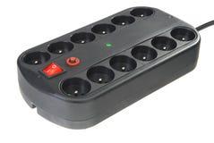 Adaptador de doce socketes Imagen de archivo