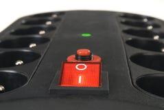 Adaptador de doce socketes Foto de archivo