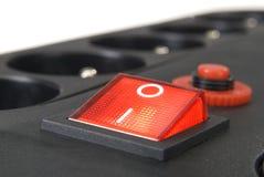 Adaptador de doce socketes Imágenes de archivo libres de regalías