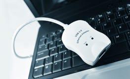 Adaptador de Ethernet Imagenes de archivo