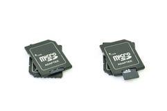 Adaptador de MicroSD Imagem de Stock