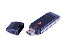 Adaptador de USB Wi-Fi imagens de stock royalty free