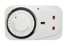 Adaptador del contador de tiempo de las tuberías fotografía de archivo