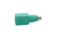 Adaptador do USB imagem de stock royalty free