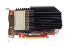 Adaptador gráfico poderoso com refrigerador passivo. Fotos de Stock Royalty Free