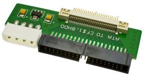 Adaptador para 1,8 pulgadas HDD Fotografía de archivo libre de regalías