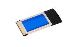 Adaptador sem fio de Wi-Fi do cardbus do pcmcia Fotos de Stock