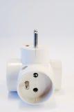 Adaptateur électrique Photo stock
