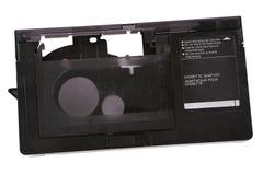 Adaptateur de cassette vidéo et cassette de 16 millimètres Photographie stock libre de droits