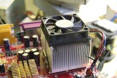 adaptatoru komputerowej grafiki odizolowywający remontowy śrubokrętu biel Zdjęcie Royalty Free