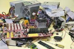 adaptatoru komputerowej grafiki odizolowywający remontowy śrubokrętu biel Obraz Stock