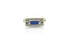 Adapter DVI to VGA Royalty Free Stock Images