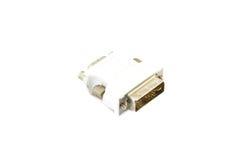 Adapter DVI to VGA Stock Image