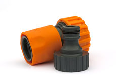 Adapter for a hose Stock Image