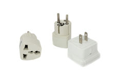 Adapter isolated Stock Photos
