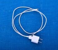 Adapter-Ladegerät mit usb-Kabel Stockbild