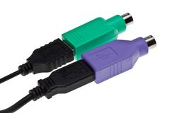 Adapter USB Royalty Free Stock Images