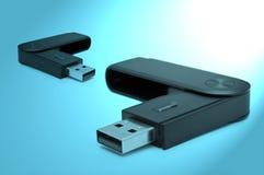 Adapter Usb-Sd Lizenzfreie Stockfotos