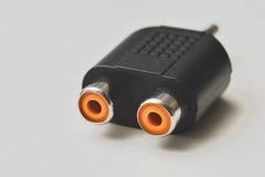 Adapter van Scart de correcte RCA Royalty-vrije Stock Afbeelding