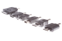 Adapters charger Royalty Free Stock Photo