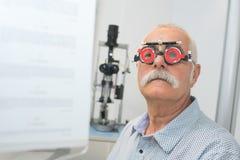 Adapting to eyes vision Stock Photos
