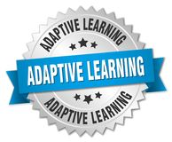 Adaptive learning badge Stock Image
