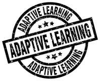 Adaptive learning stamp. Adaptive learning grunge vintage stamp isolated on white background. adaptive learning. sign vector illustration