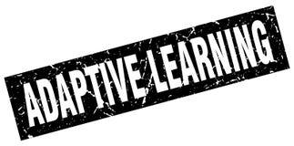 Adaptive learning stamp. Adaptive learning grunge vintage stamp isolated on white background. adaptive learning. sign stock illustration