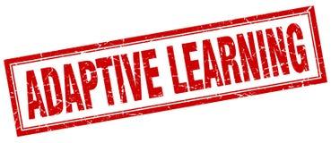 Adaptive learning stamp. Adaptive learning square grunge stamp. adaptive learning sign. adaptive learning stock illustration