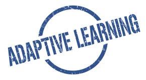 Adaptive learning stamp. Adaptive learning round grunge stamp. adaptive learning sign. adaptive learning stock illustration