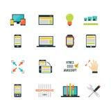 Adaptive Responsive Web Design vector illustration