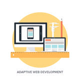 Adaptive web design Stock Images