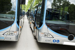 Adaptował autobus odtransportowywać niepełnosprawnych persons Fotografia Royalty Free