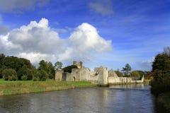 Adare castle. Ruins of the castle in Adare - Ireland Stock Images