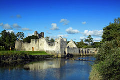 Adare Castle Co. Limerick Ireland. Adare Caste Co. Limerick Ireland on a sunny summer day Stock Images