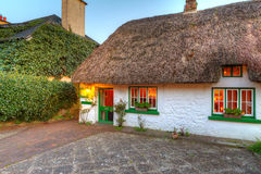 Adare cottage house. Traditional cottage house in Adare, Co. Limerick, Ireland Stock Image
