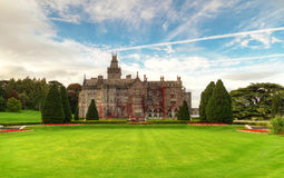 Adare manor and gardens in Ireland Royalty Free Stock Images