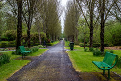 Adare Park - Ireland. A small park in the little town of Adare in Ireland Stock Image