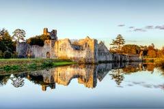 adare城堡co desmond爱尔兰五行民谣 免版税库存照片