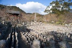 Adashino Nenbutsu-ji Fotos de archivo